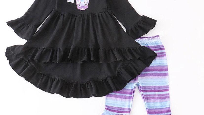 Purple Cow 3 Pc Set