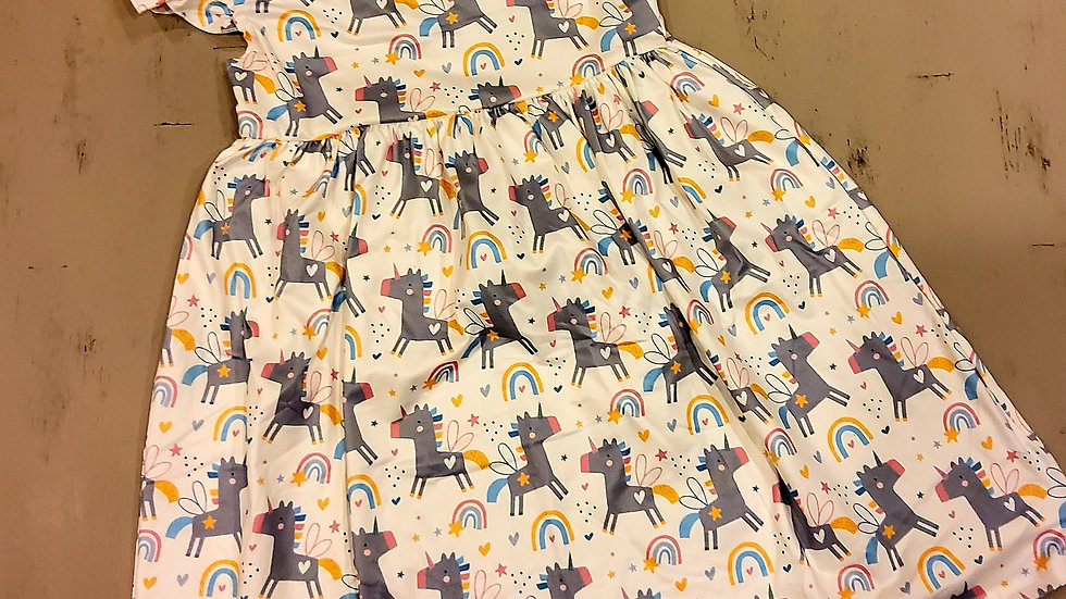 Unicorn Short Sleeve Dress