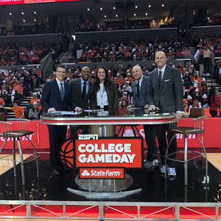 Behind the Scenes at College GameDay