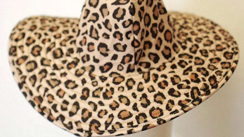 Leopard Sunhat