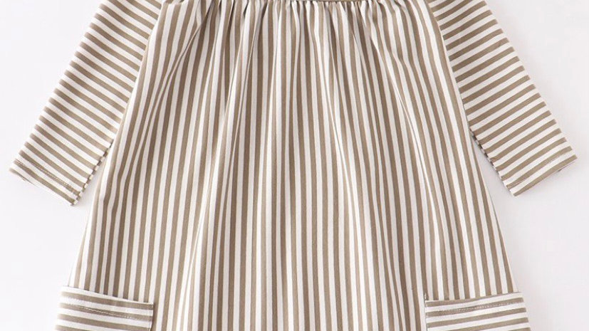 Stripe Pocket Dress