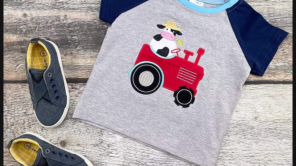 Cow & Tractor Shirt