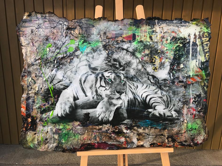 White Bengal Tiger (sold)