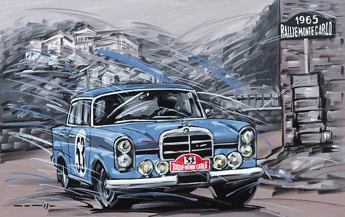 Mercedes 220SE Monte Carlo 1965