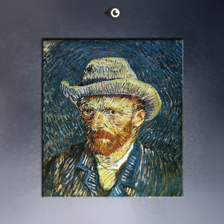 Self-Portrait-with-Straw-Hat-60x75