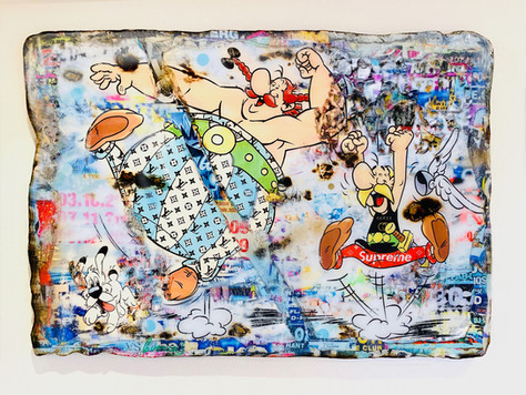 Life is Fun Asterix Oberlix (Samhart Gallery)