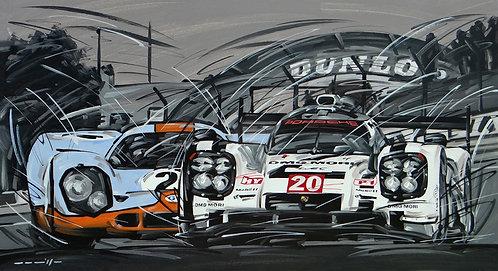 Porsche Le Mans 919 und 917