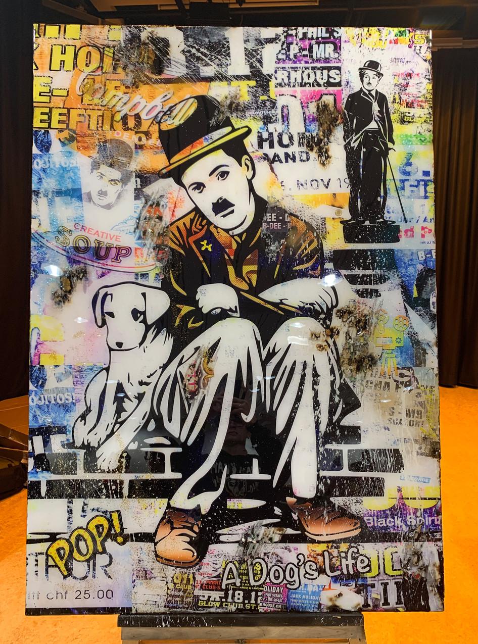 Charlie Chaplin A Dog's Life