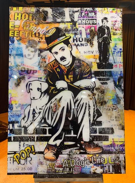 Charlie Chaplin A Dog's Life (SOLD)