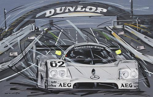Sauber Mercedes #62 Le Mans 1989