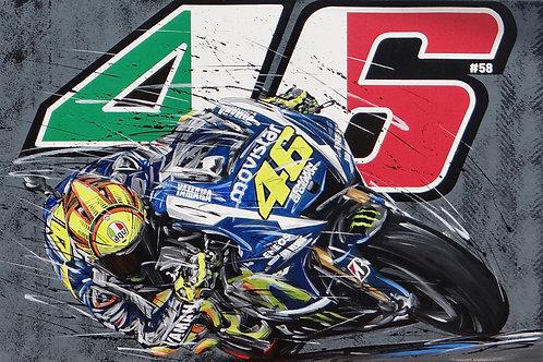 Valentino Rossi 46 Yamaha