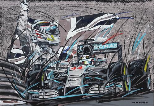 F1 Mercedes Hamilton 2014