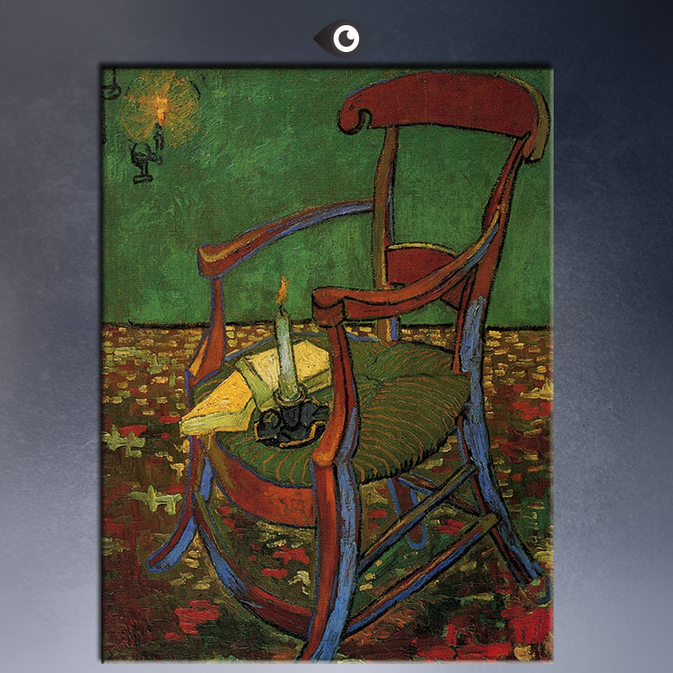 GAUGUIN-S-CHAIR-WITH-CANDLE-50x75