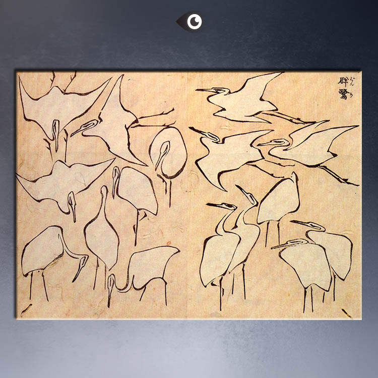 cranes-from-quick-lessons50x70