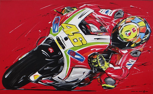Moto Gp Rossi Ducati 46