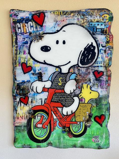 Snoopy La Pura Vita (SOLD)