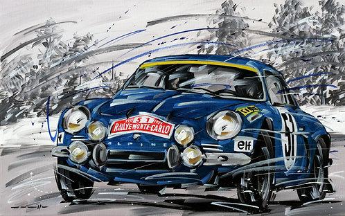 925 Alpine 51 Rallye Monte Carlo 1971