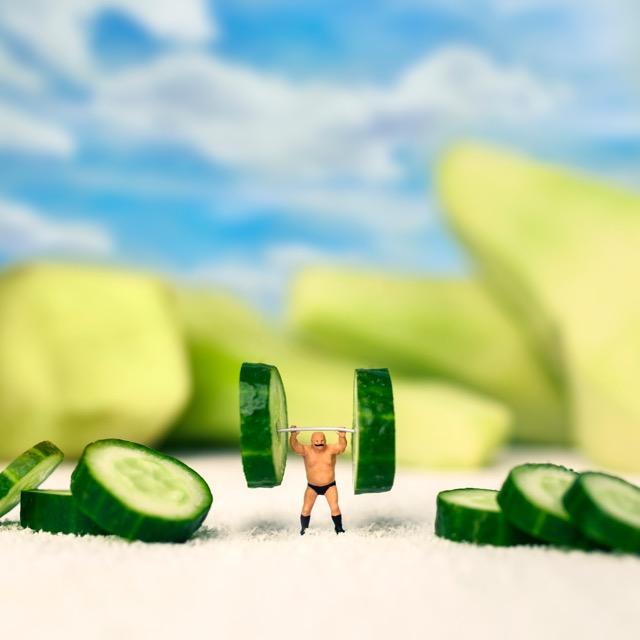 Cucumber gym 90x90cm