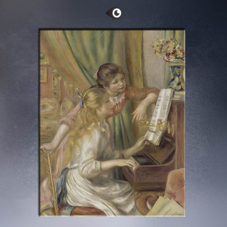 Young-Girls-at-the-Piano50x80