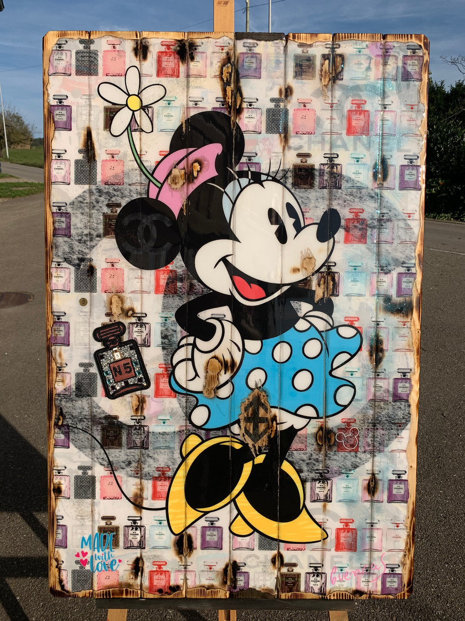 Minnie Mouse Chanel