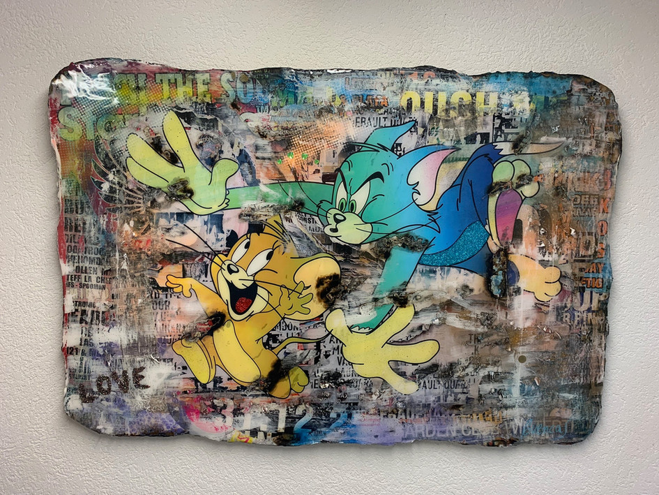 Tom & Jerry LOVE (sold)