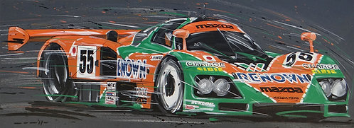 Le Mans Mazda 1991