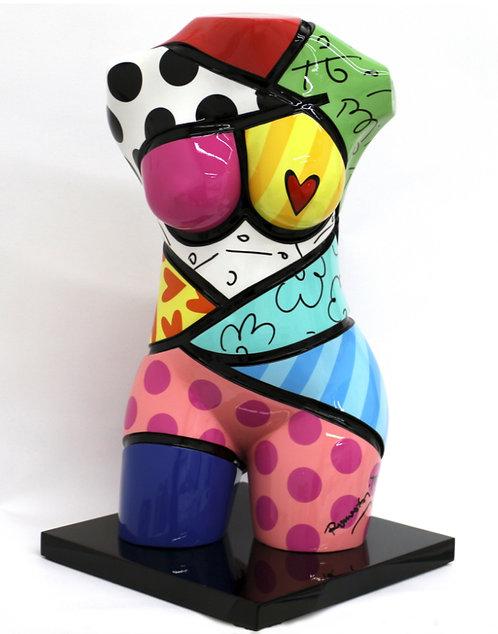 Skulptur Colorful Classic