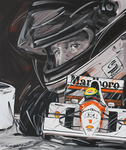 Ayrton Senna McLaren 1
