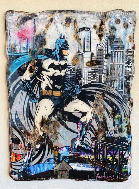 Batman in Gotham City (Samhart Gallery)