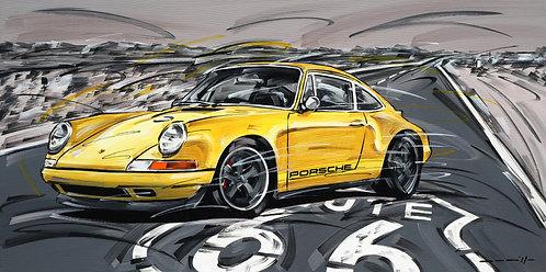 Porsche 911 Carrera Route 66