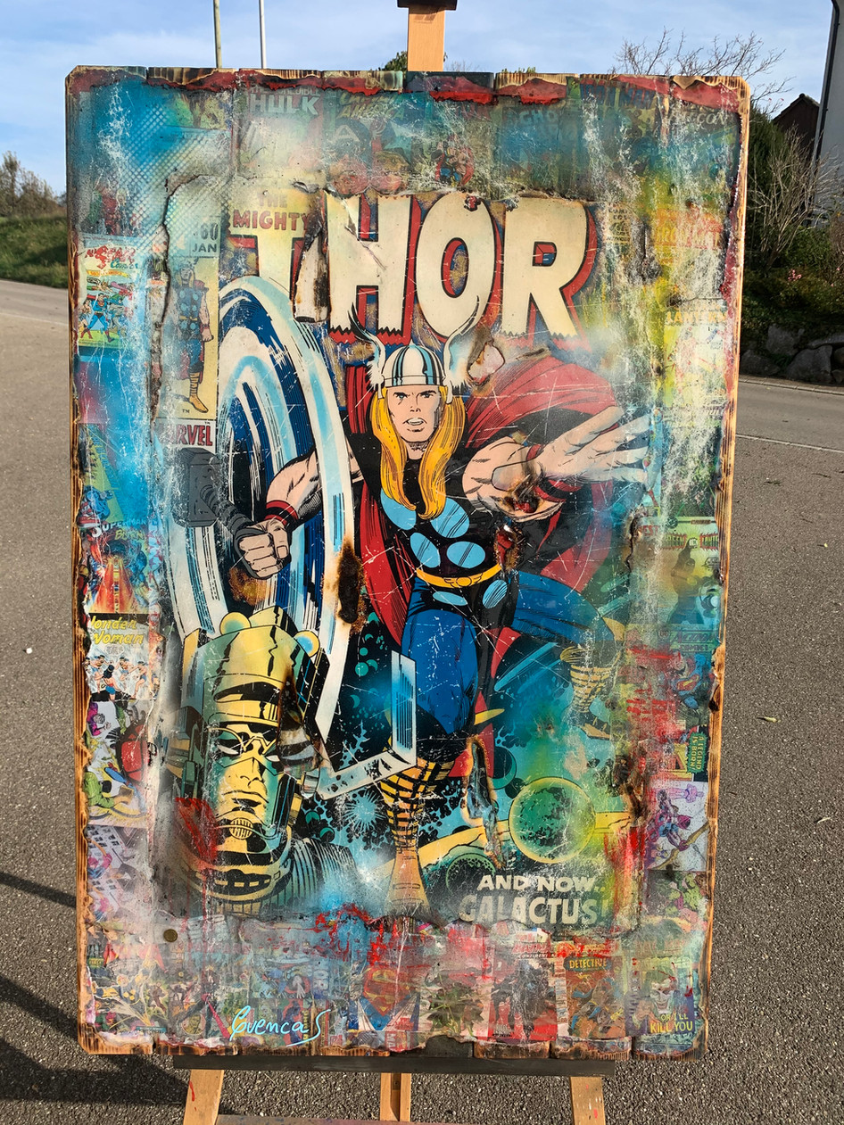 The Mighty Thor Retro (sold)