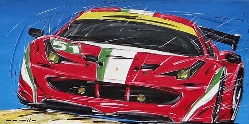 Le Mans Ferrari 458