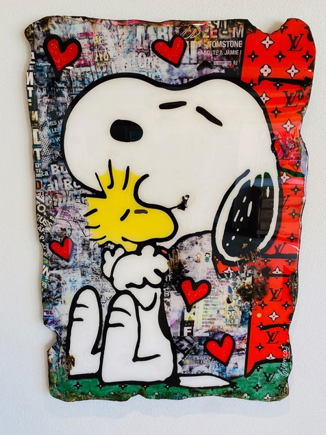 Snoopy LOVE Forever (Samhart Gallery)