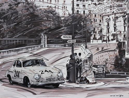 Porsche 356 C Monte Carlo 1953