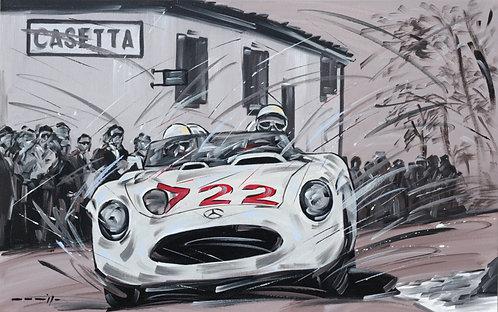 Mercedes #722 Mille Miglia 1955