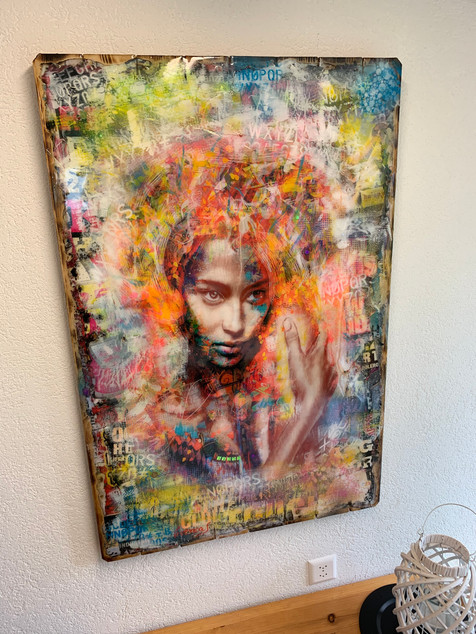 Brazilian Soul Lady (sold)