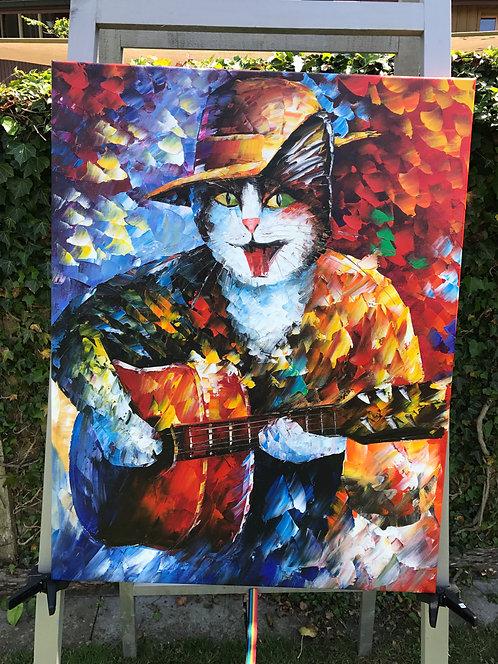 Cat Guitarist 2