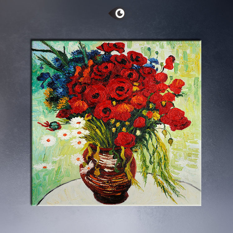 VASE-WITH-DAISIES-AND-POPPIES-60x60