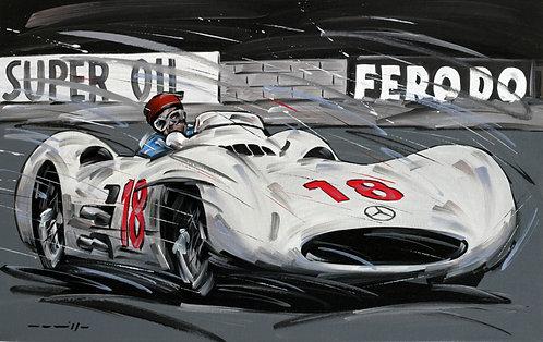 Mercedes 300SLR Le Mans 1955