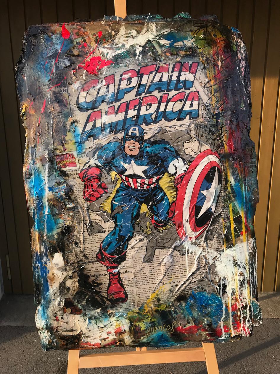 Capitan America Retro (sold)