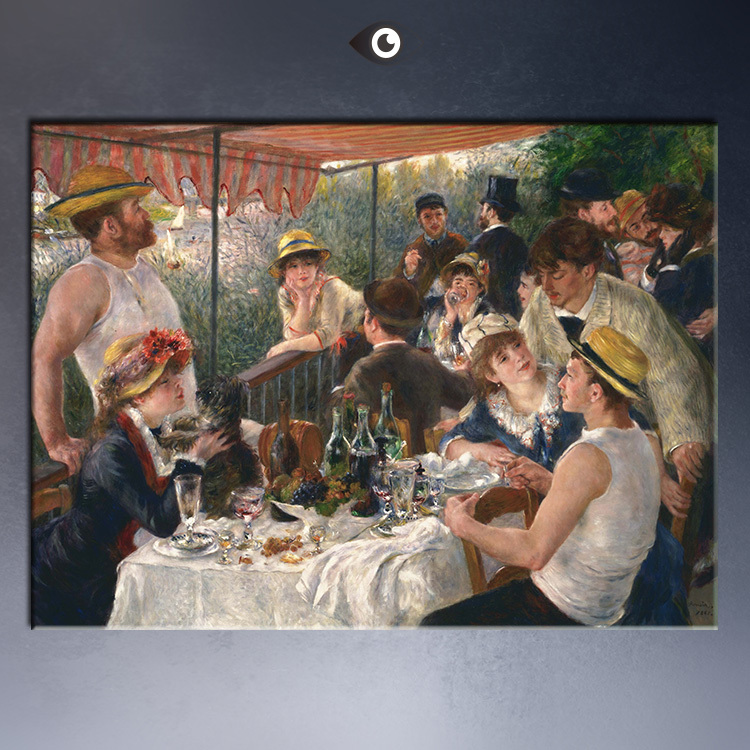 -Lunch-on-of-the-Boating-Party-50x80