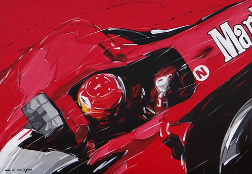 F1 Schumacher Ferrari