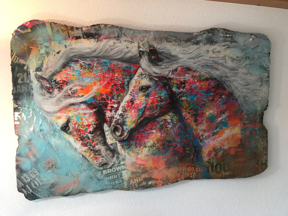 Twin Horses (sold)