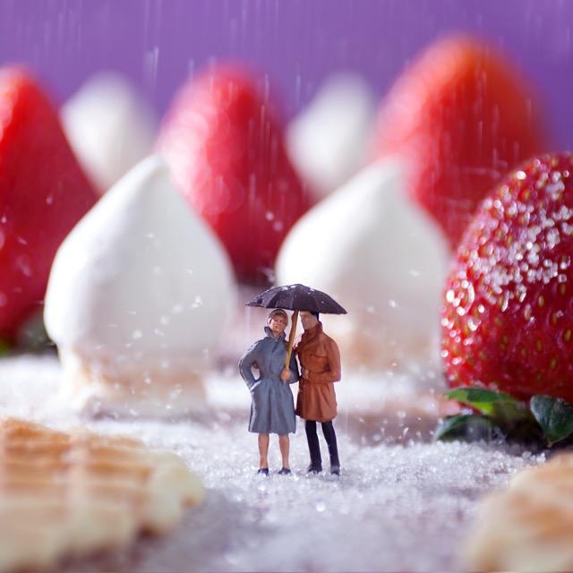 Sugar Rain 90x90cm