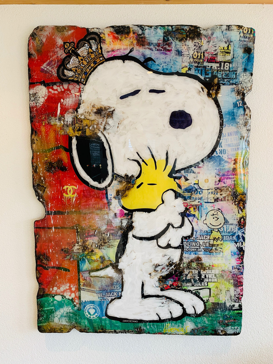 Snoopy - King of Love (sold)
