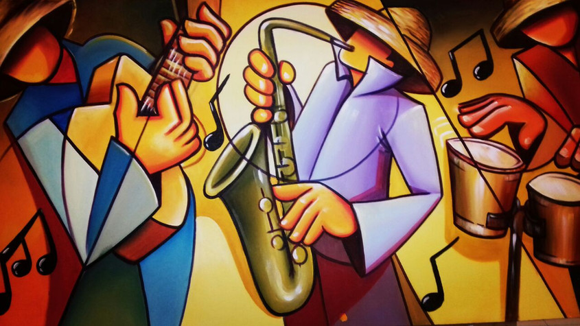 Musical Baiano 140 x 80 cm
