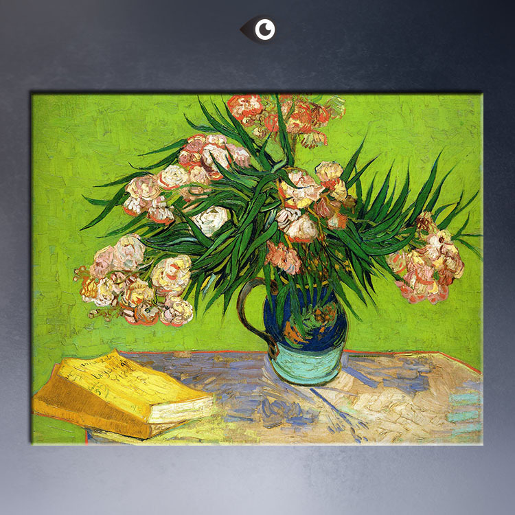 Oleanders-and-Books-1888-60x80