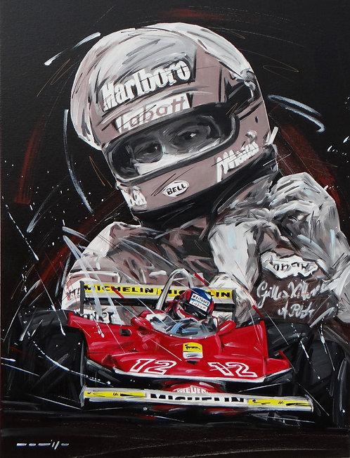 Gilles Villeneuve Ferrari 12