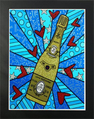 Champagne Wishes & Caviar Dreams 122 cm x 97 cm