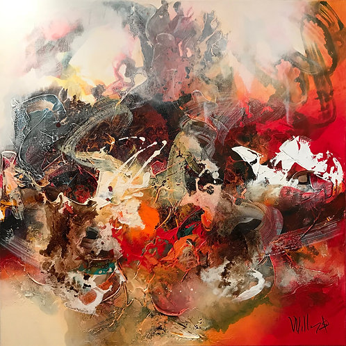 Great Vibes 90x90cm
